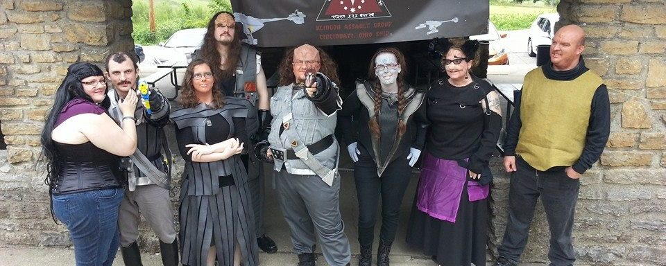 AER: IKV ta' veng Grill Out with Klingons