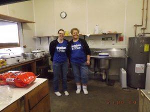 SCHS Volunteer Kitchen Crew