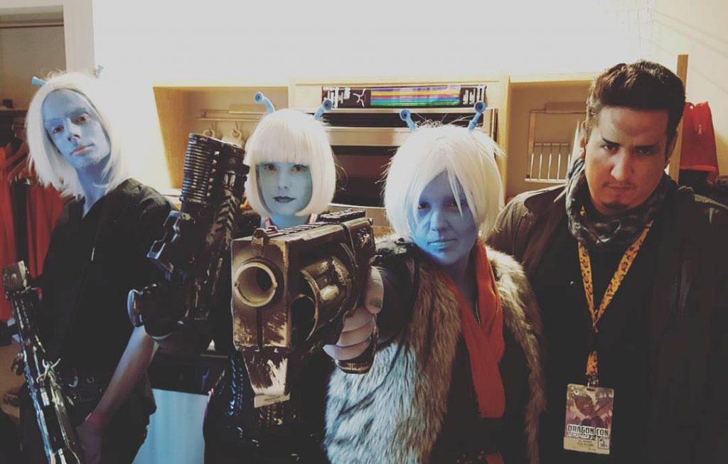 XLV Korelath at Dragon Con 2016