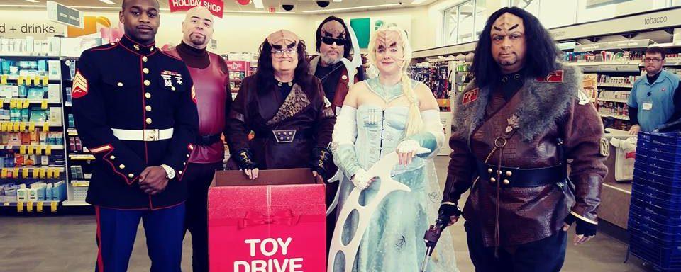 AER: IKV batlh qa' 8th Annual Klingon Christmas Toy Drive
