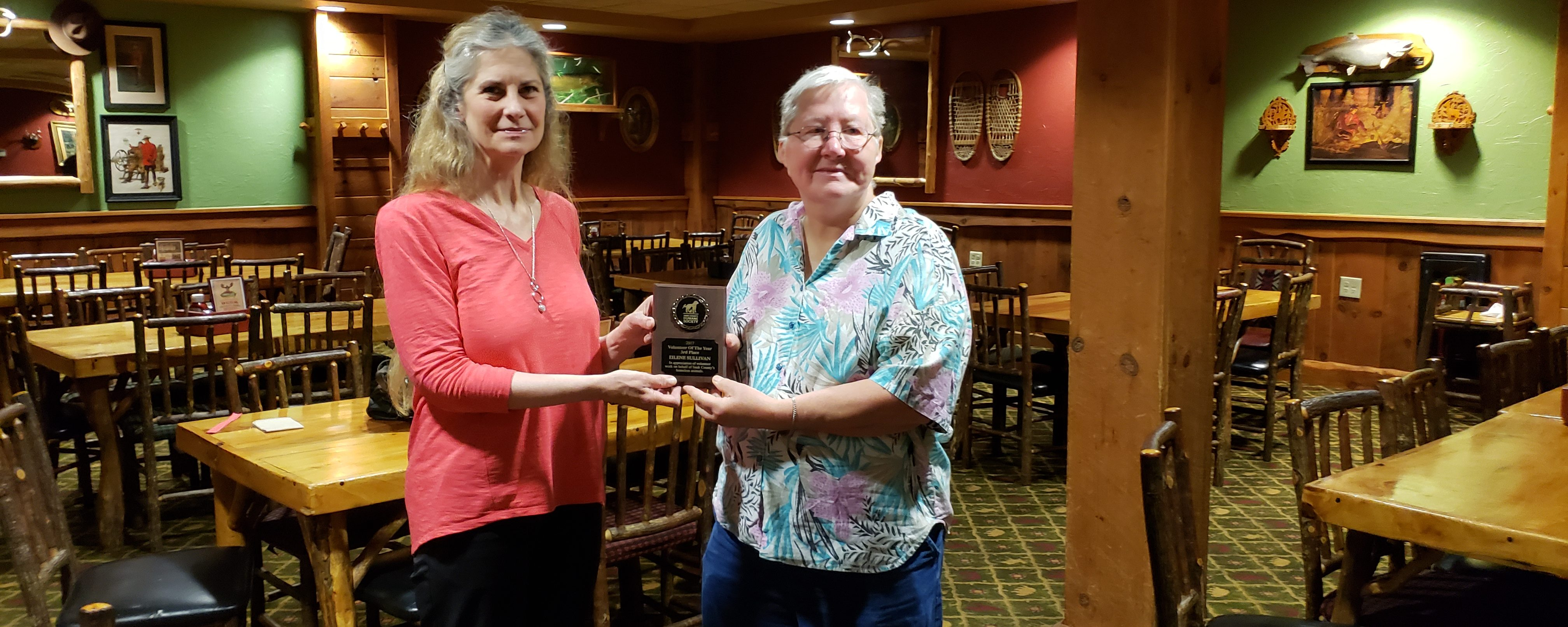 AER: Sauk County Humane Society Thank You Luncheon
